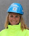 Hanna, projektledare på Strängbetong