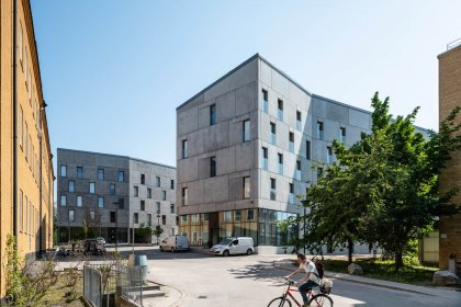 Studentbostäderna KTH Rocks på KTH campus i Stockholm